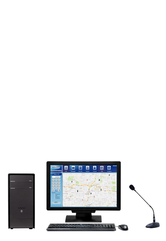 DS6000 DCS DMR Tier III Dispatcher Client System