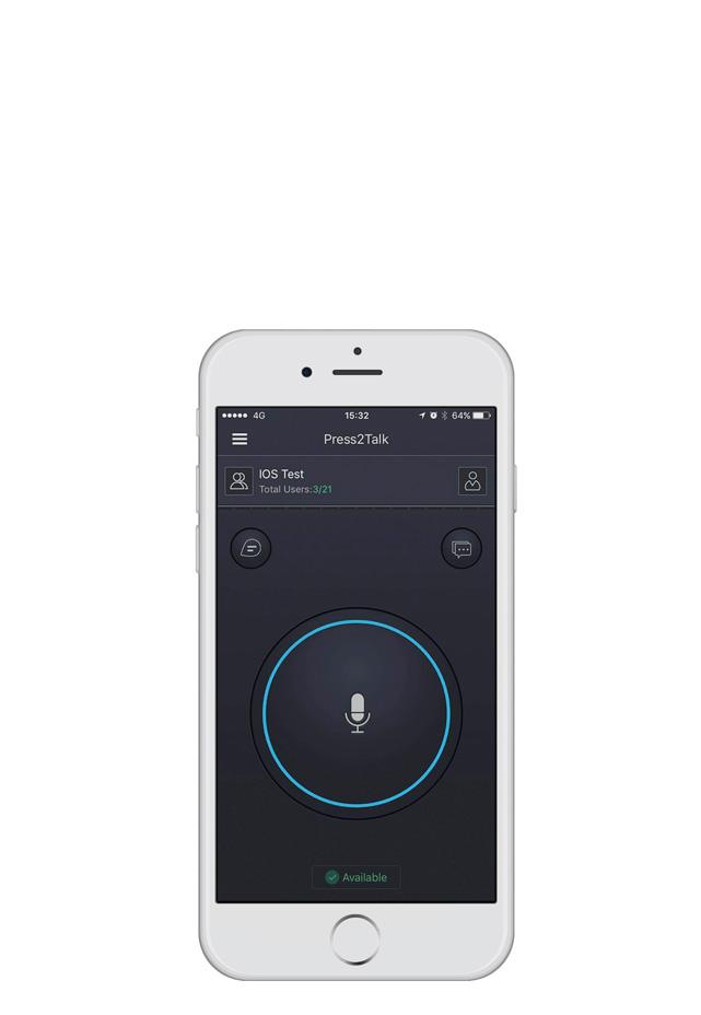 Push2Talk IOS Android POC Application
