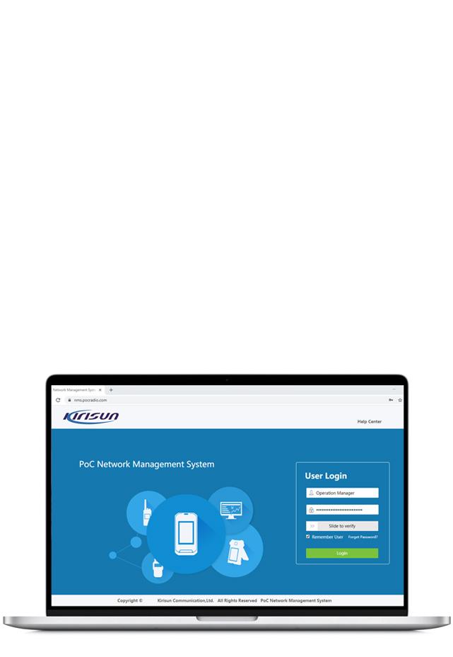 WRSM2240 POC Wifi Local Area Integrated Radio System Management Application